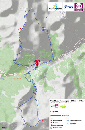 Carte Sky Race Des Anges